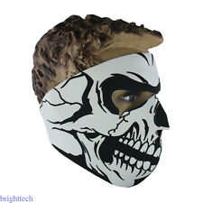 Neoprene CS Winter Neck Warm Skull Face Mask for Veil Sport Motorcycle Ski Bike