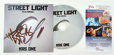 KRS ONE signed CD Insert Album STREET LIGHT Exclusive Rap JSA Authentication
