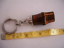 Authentic GUCCI Chunky Bamboo Keyring or bag charm Great Condition!