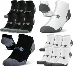 Under Armour U290 Mens UA Resistor III 3.0 No Show 6-Pack Athletic Socks 1282424