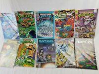 lot of 10 assorted vintage TMNT comic books Teenage Mutant Ninja Turtles