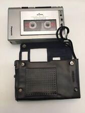 Panasonic Model RQ-337 Portable Cassette Tape Recorder & Case