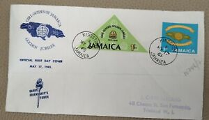 1965 Jamaica FDC Girl Guides Of Jamaica Golden Jubilee 17 May 1965 - Mint