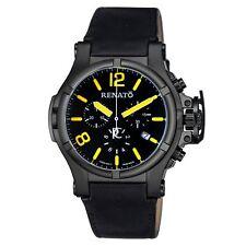 New Mens Renato T-Rex Aviator Swiss Chronograph Military Diver Retro Sport Watch