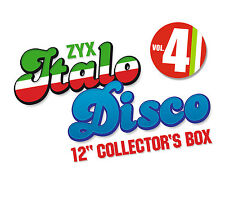 CD ZYX Italo Disco 12 Pulgadas Collector's Caja Vol.4 de Varios Artistas 10CDs