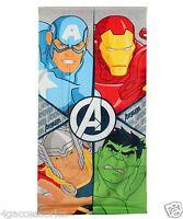 TOALLA Vengadores Marvel Avengers RITRATTI Bagno Telo da Spiaggia 140 cm x 70 cm