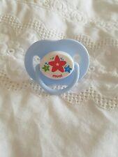Azul de bebé ♡ estrellas ♡ ~ Maniquí Magnético Chupete ~ Reborn Bebé Muñeca