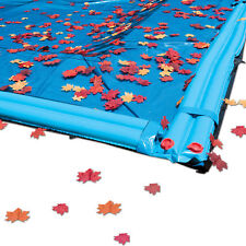 12 ft x 24 ft Rectangle In Ground Swimming Pool Winter Cover Leaf Net