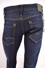 Replay Waitom Jeans Uomo Blu (blue Denim 7) W29/l32