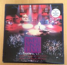 "SIMPLE MINDS LIVE - Promised You A Miracle Ltd Edition 10"" Vinyl Single + Poster"