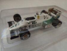 RBA ATLAS EDITIONS 1/43 WILLIAMS FORD FW08C KEKE ROSBERG 1983 F1 DIECAST CAR