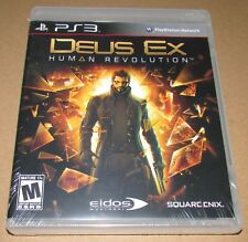 Deus Ex: Human Revolution (Sony PlayStation 3) Brand New / Fast Shipping