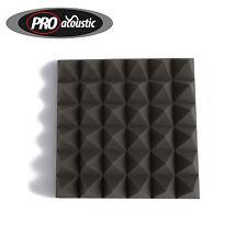 """14x AFP100 Pro Acoustic Foam Treatment Tiles Pyramid (100mm 4""""  Tiles )"""