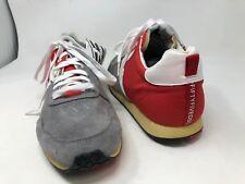 New!! Men's Diesel CR155 CR055 55DSL size 11 gray /red/white shoes 64S
