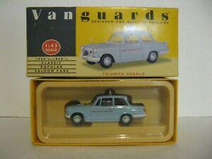 1:43 Vanguards - Triumph Herald - British motoring School