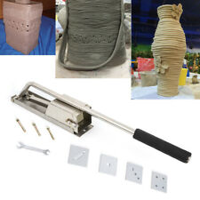 Clay Extruder for Pottery & Ceramics Stainless steel Tool Set Wall-Mounted Usa