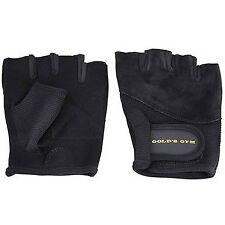 Gold's Gym Weight Lifting Gloves, Black, Small