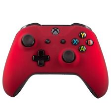 New Microsoft Xbox One S Wireless Bluetooth Controller Custom Soft Touch Red