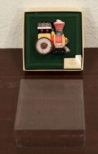 1981 Candyville Express Train Locomotive Hallmark Christmas Ornament Mib