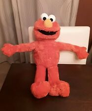 Large Hasbro Sesame Street Big Hugs Elmo Plush Toy Talking Doll Interactive EUC