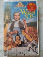 Wizard of Oz VHS, 1996, Brand New Factory Sealed Clamshell Digitally Mastered