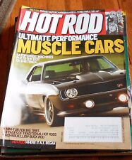 HOT ROD MAGAZINE March 2009- 14 Top Street Machines- Muscle Cars, Budget Superch
