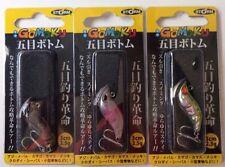 3x Storm Gomoku Micro Bottom Vibes Blades 30mm Jigs Stick Bait Lures Bream Jew