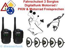Fahrschulfunk digital MAAS PT-130 Set3 PKW-Motorrad-Motorrad Ausbildung sorglos