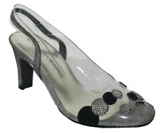 Brenda Zaro Sling Back Peep Toes Shoes Size 3 Suede and Leather NIB SP £89