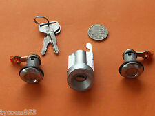 IGNITION BARREL & 2 DOOR LOCKS SUIT TOYOTA CELICA COROLLA HILUX 4RUNNER