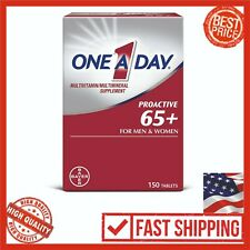 One-A-Day Proactive 65+ Multivitamin 150 Count Men Women Health Vitamin Care Age