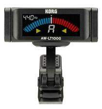 Korg 100 hours of continuous driving guitar-only clip-on Aw-Lt100G tuner Japan