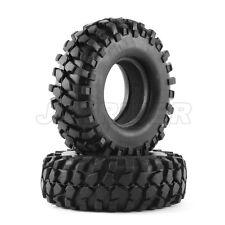 "Jazrider RC Crawler 1.9"" Rock Block Tires (2pcs)For Axial SCX10/Tamiya CC01 F350"
