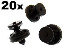 20x Audi PLASTICA Tagliare Clip per PORTA CARDS & pannelli per interni, copre &