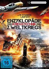 12 DVD ENZYKLOPÄDIE DER KRIEGSTECHNIK U-Boote PANZER Waffengattungen BOX Edition
