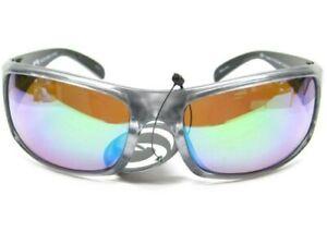 Strike King S11 Optics Gray Metallic Okeechobee Green Polarized Lens Sunglasses