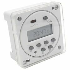 Heschen Digital LCD Power Weekly Programmable Timer Relais Commutateur CN101A DC 12 V 1