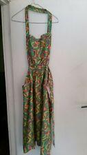Genuine Vintage Handmade Full Apron 1970S One Owner