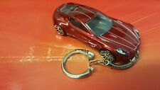 Diecast Aston Martin One-77 Red Toy Car Keyring Keychain RECORDED DELIVERY