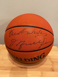 "Michael Jordan Autographed Basketball ""Best Wishes"" Vintage Signed W/ COA RARE!!"