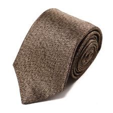 New $230 ISAIA 7-Fold Ponyhair Printed Satin Silk Tie