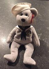 206293b4f7d Ty Beanie Babie Baby USS Ronald Reagan CVN 76 RONNIE Navy Sailor USNL Gray