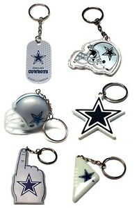 DALLAS COWBOYS NFL FOOTBALL KEYCHAIN BACKPACK PULL  LICENSED  - YOU CHOOSE