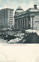 SAN FRANCISCO CA – The Hibernia Bank After the April 18, 1906 Fire Disaster -udb