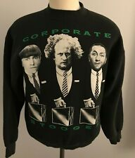 Vintage Three Stooges Corporate Stooges Men's Sweatshirt Size: L - Made in USA