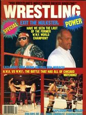 RANDY SAVAGE/HULK HOGAN Wrestling Power Magazine December 1988 RIC FLAIR