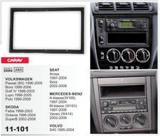 CARAV 11-101 2Din Marco Adaptador VW Passat Golf Lupo Polo SEAT Ibiza VOLVO S40