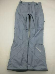 Columbia Titanium Size M Womens Gray Waterproof Insulated Snow Ski Pants T114