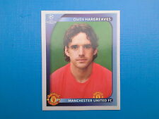 Panini Champions League 2008-09 2009 N. 16 HARGREAVES MANCHESTER UNITED
