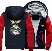 Hoodie Winter Thick Hooded Coat Unisex warm Sweatshirt Jacket Gift